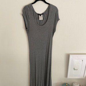 BCBGMaxAzria Ribbed Jersey Maxi Dress